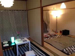 居間と寝室1